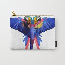 Tropical Elephant by Fernanda Quilici Carry-All Pouch