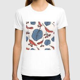 Linden pattern in retro mid-sentury colors T-shirt
