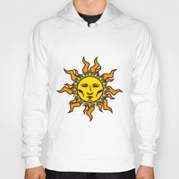 sublime Hoodies featuring Sublime Sun Psychedelic Character Design Logo by CAP Artwork & Design
