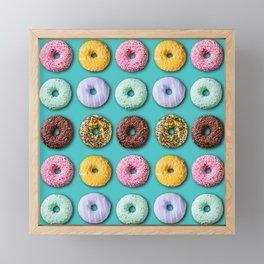 Donuts Framed Mini Art Print