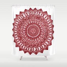 Sunshine-Garnet Shower Curtain