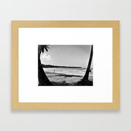 Playa Bonita Framed Art Print
