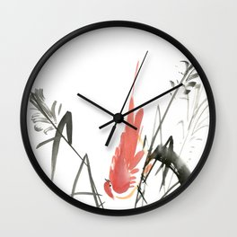 Bird 4- Chinese Shui-mo (水墨) Wall Clock