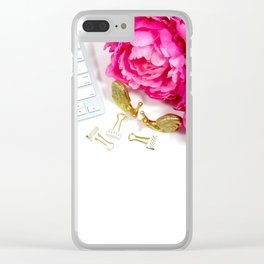 Hues of Design - 1025 Clear iPhone Case