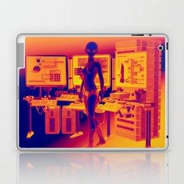 Alien Female Console Station HD Infared Laptop & iPad Skin