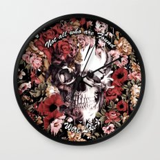 Not all who are found were Lost Wall Clock
