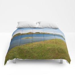 Assateague Island Marsh Comforters