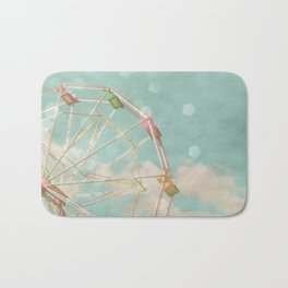 Candy Wheel Bath Mat