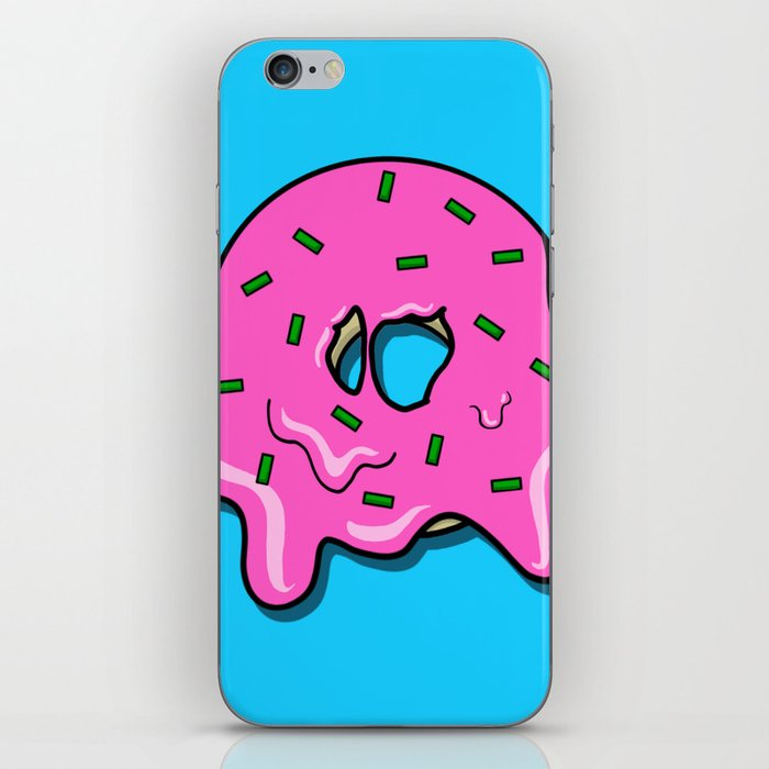 Donut time iPhone Skin