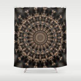 Mandala grey elegance Shower Curtain