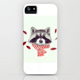 Indi raccoon iPhone Case