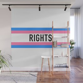 Trans Rights Wall Mural