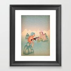 sparatoria Framed Art Print