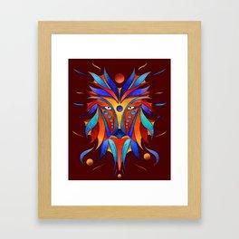 Sanopsilla - the dog Framed Art Print