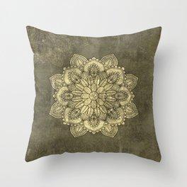 Wonderful mandala Throw Pillow