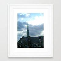 spires Framed Art Prints featuring  Spires by Jean Ladzinski