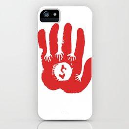 Capitalism iPhone Case