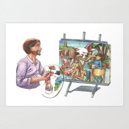 Hieronymous Bob Art Print