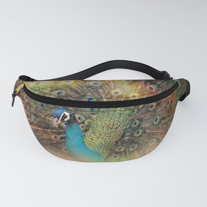 Orient Peacock Fanny Pack