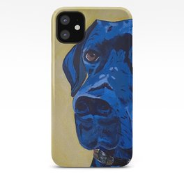Hank the Great Dane Oil Painting iPhone Case