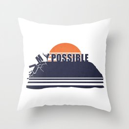 Make it Possible Throw Pillow