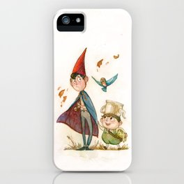 One is a Bird, Two are the Trees iPhone Case