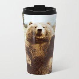 Hi Bear Metal Travel Mug