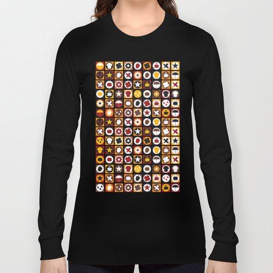 Retro autumn pattern No.321457 Long Sleeve T-shirt