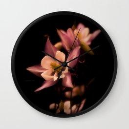 Aquilegia Wall Clock
