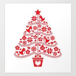 arvore de natal Art Print