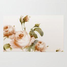 romantical vintage roses Rug