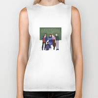 breakfast club Biker Tanks featuring The Breakfast Club by Christina