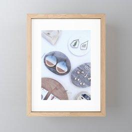 PLANTETHICS Fine Flatlay Framed Mini Art Print