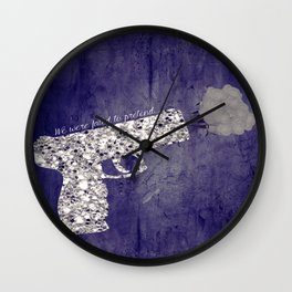 FATED TO PRETEND Wall Clock