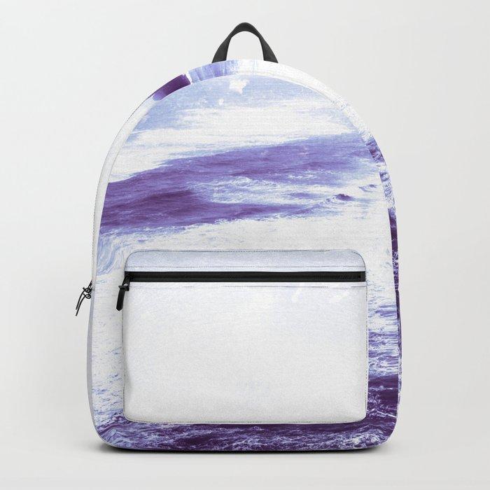 Vintage Coastal Sea Backpack