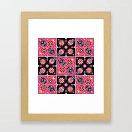 Soul Tiles Framed Art Print