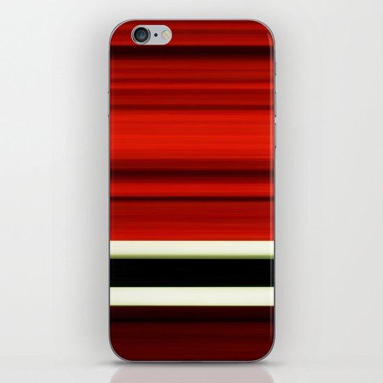red-girl iPhone & iPod Skin