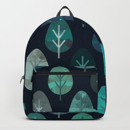 Watercolor Forest Pattern #7 Backpack
