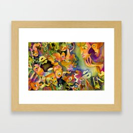 Empty Rhetoric Framed Art Print
