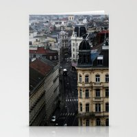vienna Stationery Cards featuring Vienna 01 by Mi Nu Ra