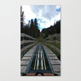 adventure park hög schneisenfeger coaster alps sfl tyrol austria europe Canvas Print