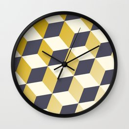 Geometric Circle Study Series No. 2 Wall Clock