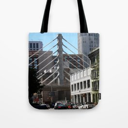 Keeps Me In Suspension Tote Bag