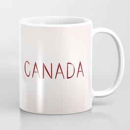 Maple Leafs Map of Canada Coffee Mug