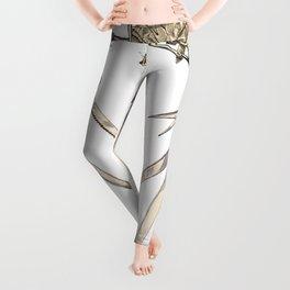 Scissorhands (Sepia) Leggings