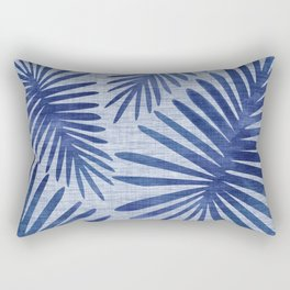 Mid Century Meets Mediterranean - Tropical Print Rectangular Pillow