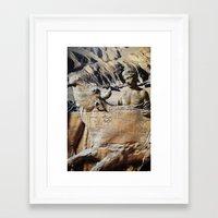 bull Framed Art Prints featuring Bull by John Turck