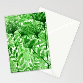 Green april Stationery Cards