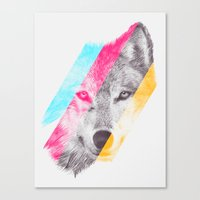 eric fan Canvas Prints featuring Wild 2 by Eric Fan & Garima Dhawan by Garima Dhawan