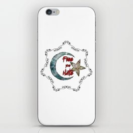 Free your Hate iPhone Skin